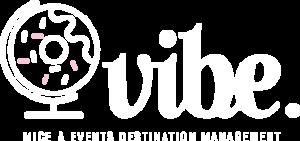 Vibe Agency Logo white