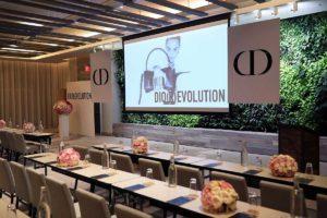 DIOR event setup