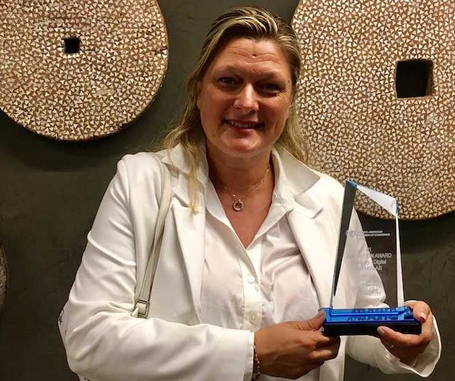 Valerie Bihet facc award