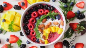 healthy buffet