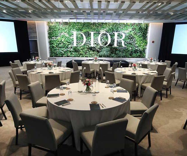 Dior Event room