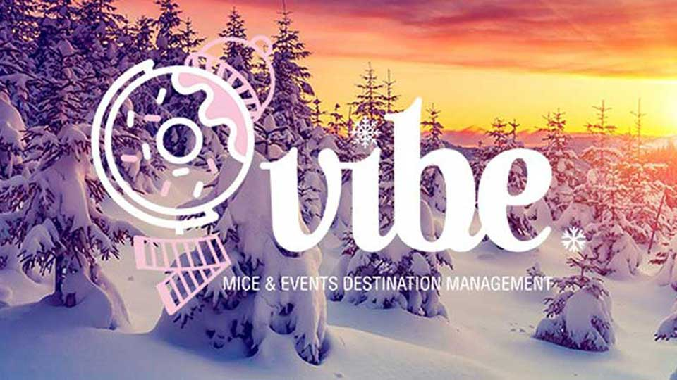 Vibe agency winter logo