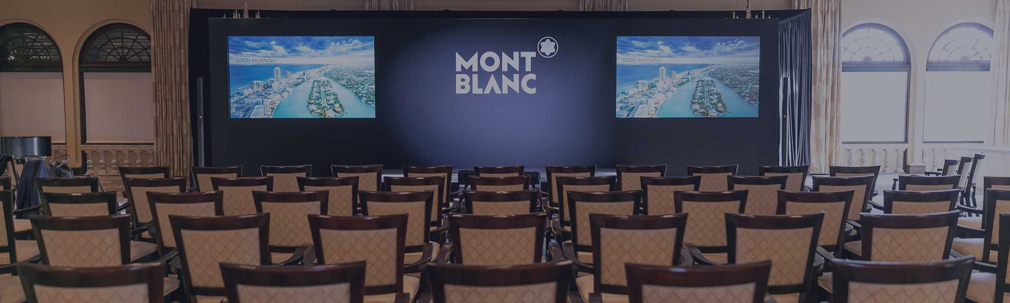 Mont Blanc event room