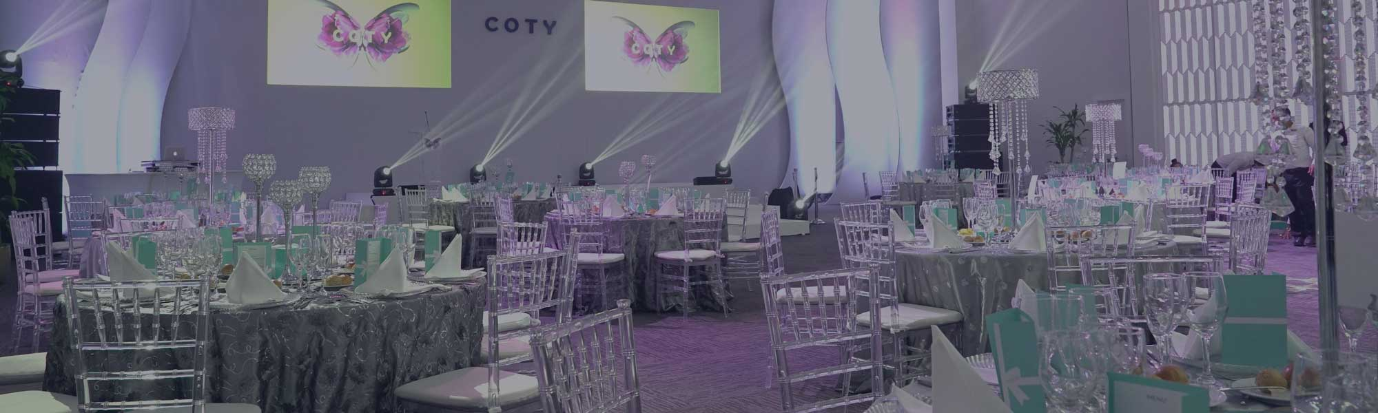 COTY event