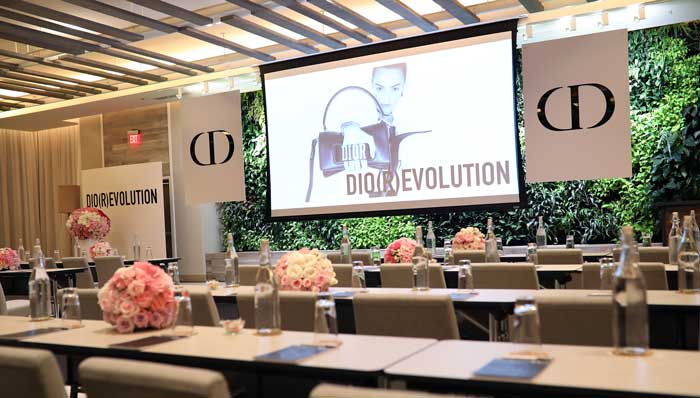 DIOR event room