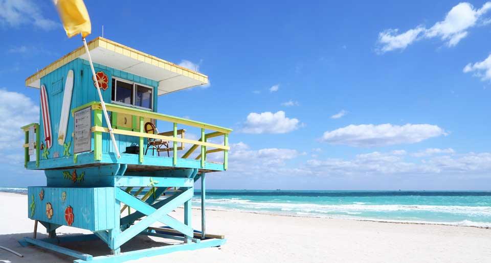 cabana on a beach