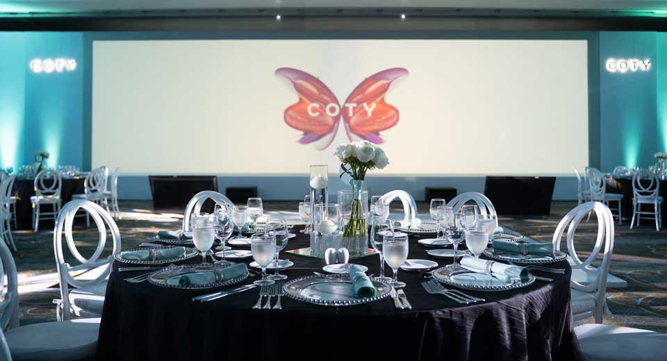 COTY event room