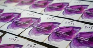 COTY event nametags