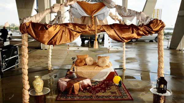 middle eastern tent