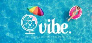 Vibe agency summer logo