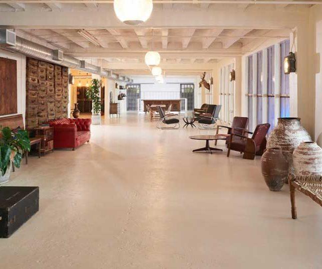 large hall room