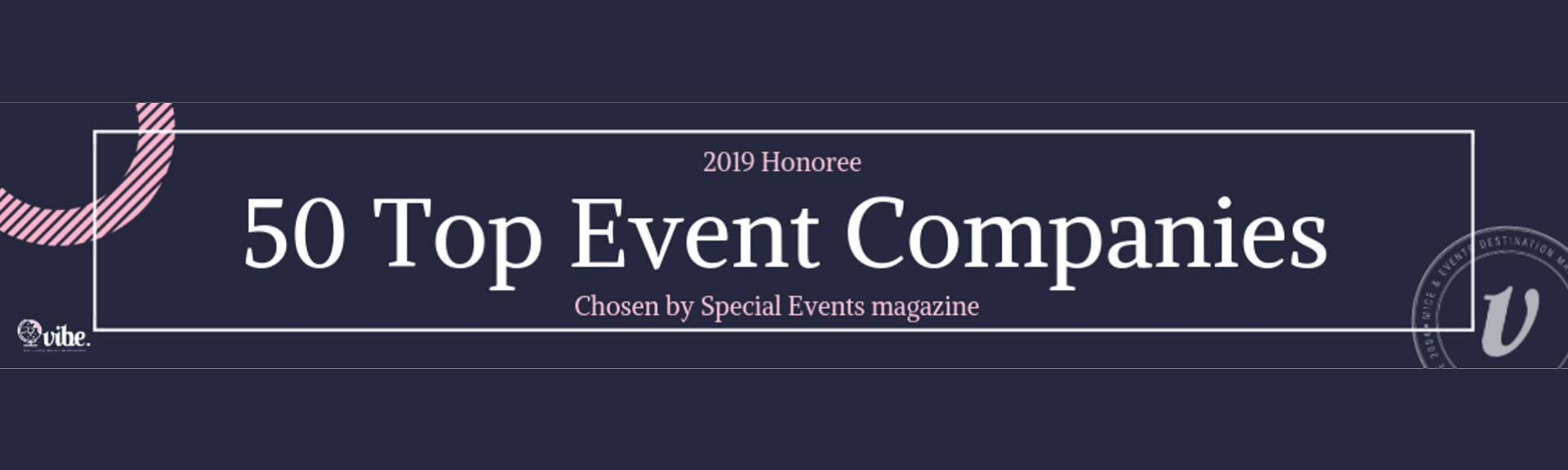 Top 50 event Companies
