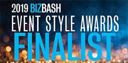 2019 Bizbash Event Style Award finalist logo