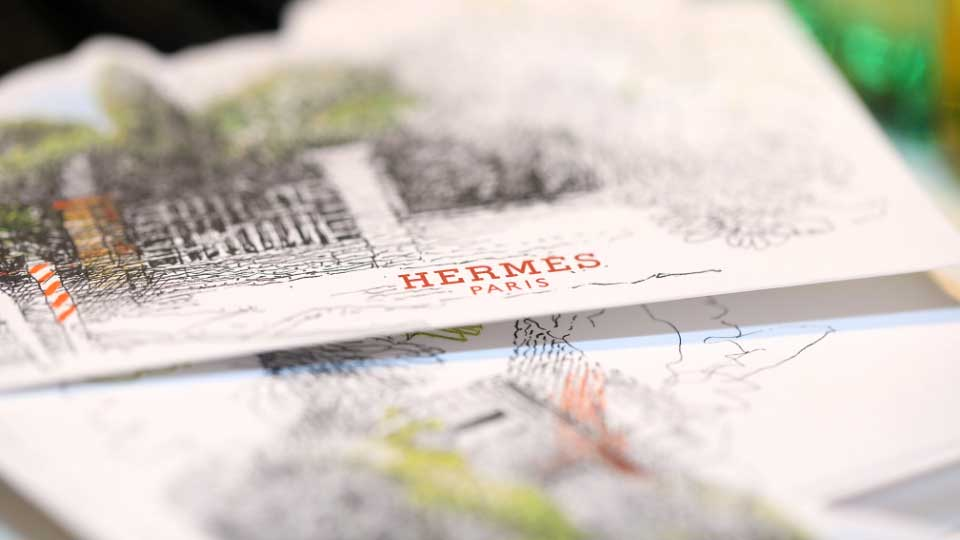 Description: Hermes invitation