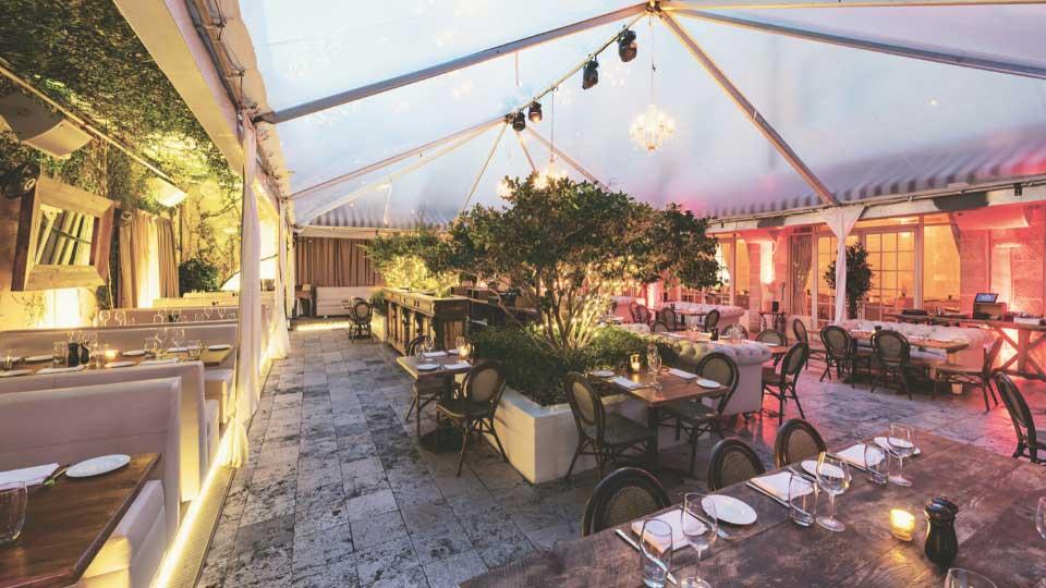 Description: Villa Azur, MIami, Outdoor terrace