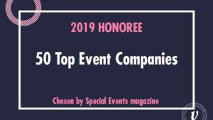 50 top event companies award