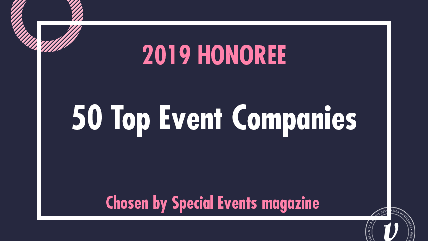 50 top event companies award