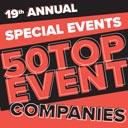 50 top event companies