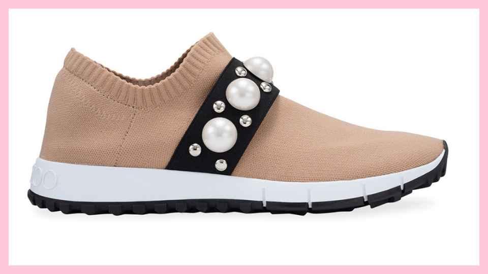 jimmy choo brown shoe